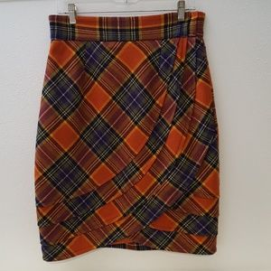 Anthropologie Plenty by Tracy Reese plaid skirt
